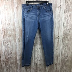 AG The Stevie Angle Slim Straight Jeans Size 32R